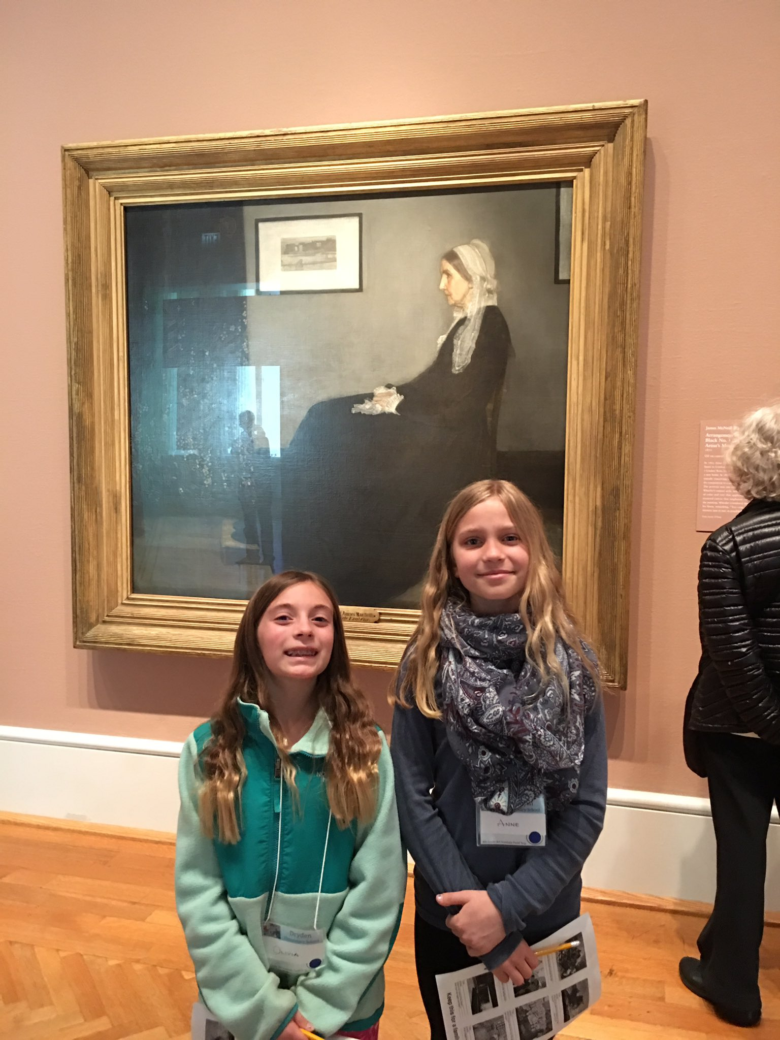 A great opportunity to see Whistler's Mother. @fuglefun #drydenartic https://t.co/ETxO28vuaW