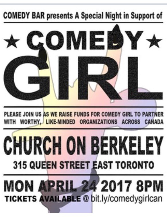 Support women in comedy! Join us for a special night in support of Comedy Girl!