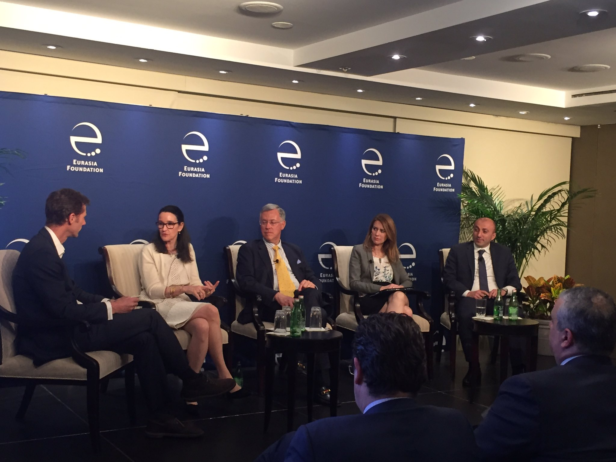 """""""What made for a successful business in Germany was the same as in Africa: the ability to imagine a future."""" Teresa Barger at #EFImpInv https://t.co/5QjMZvaAyO"""