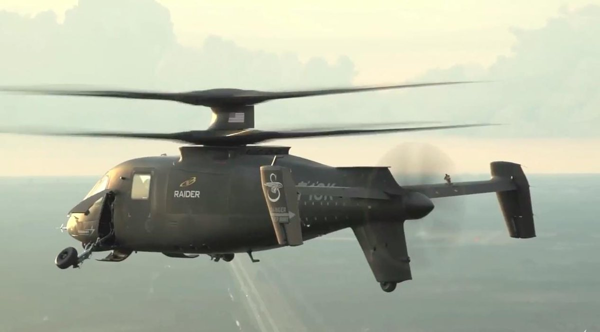 New @LockheedMartin @Sikorsky video of S-97 Raider flight tests - cool gear-retraction and in-flight sequences
