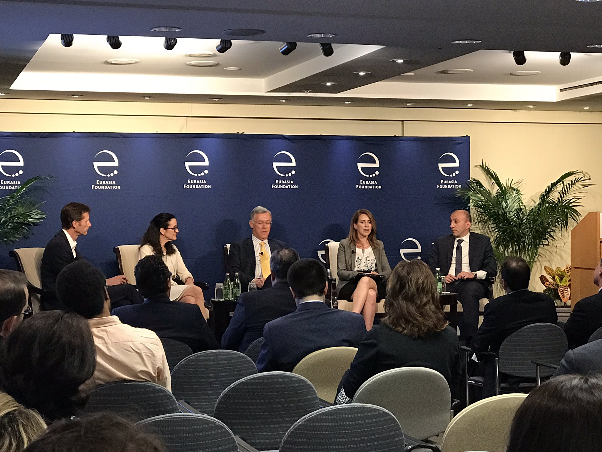 @EFNetwork #Georgia is considered as a star among the eurasian countries @Expanding Risk Capital for Small Businesses in Eurasia panel https://t.co/40cUNFVKd1