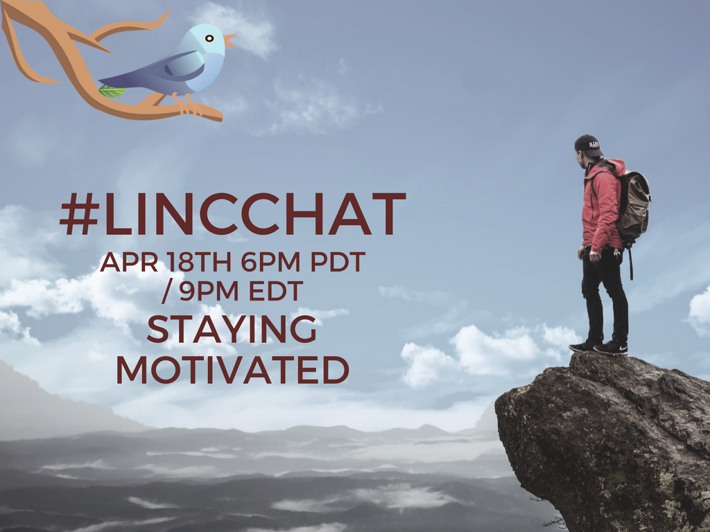 Join #LINCchat tonight. Everyone is welcome! https://t.co/kRlUKhpviL