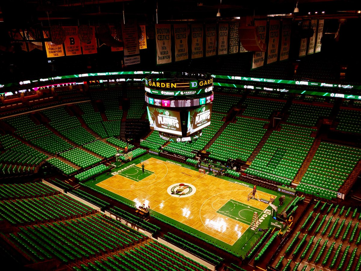 td garden on twitter tdgarden goes green for celtics playoffs tonight heres what you need to know about parking more httpstco7yvnwkzn5x - Td Garden