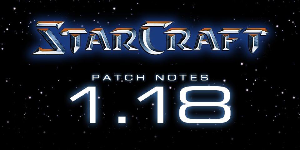 StarCraft is now FREE w/ Patch 1.18!