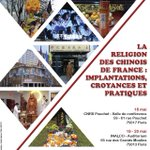 "Colloque ""La religion des Chinois en France"" - Paris, 18-20 mai 2016 - https://t.co/rHzkdmWzBv"