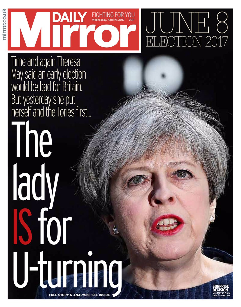 Crush the saboteurs': British newspapers react to general