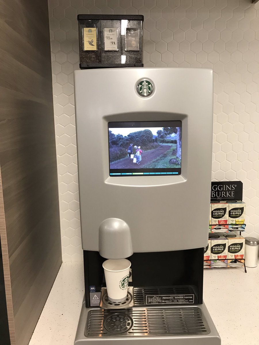 Ashley Keller On Twitter A Starbucks Vending Machine Where Can I Order One Of These For My Kitchen NorthernComm