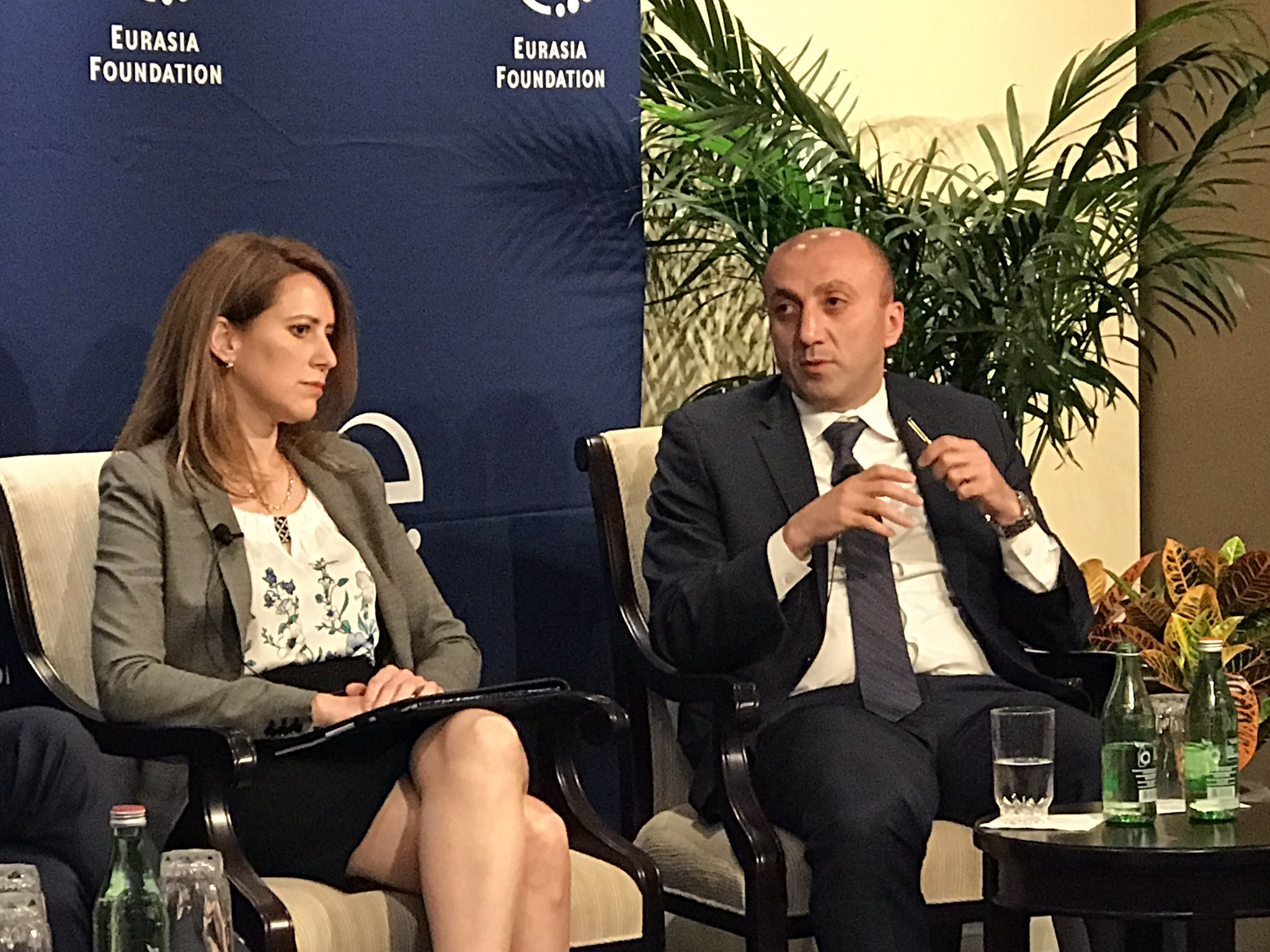 @EFNetwork DCM Tsikolia: As a New Silk Road emerge Georgia will be connecting East&West. More US investment welcomed in Geo free indst zones https://t.co/uHeyeHCBuG