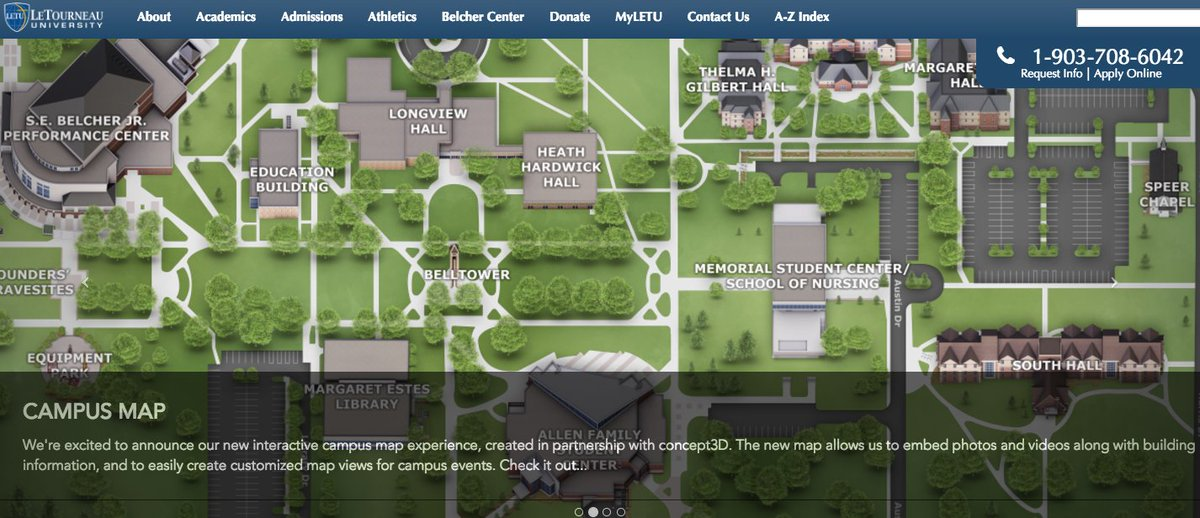 letourneau university campus map Letourneauuniversity On Twitter Our New Campus Map Is So Cool letourneau university campus map