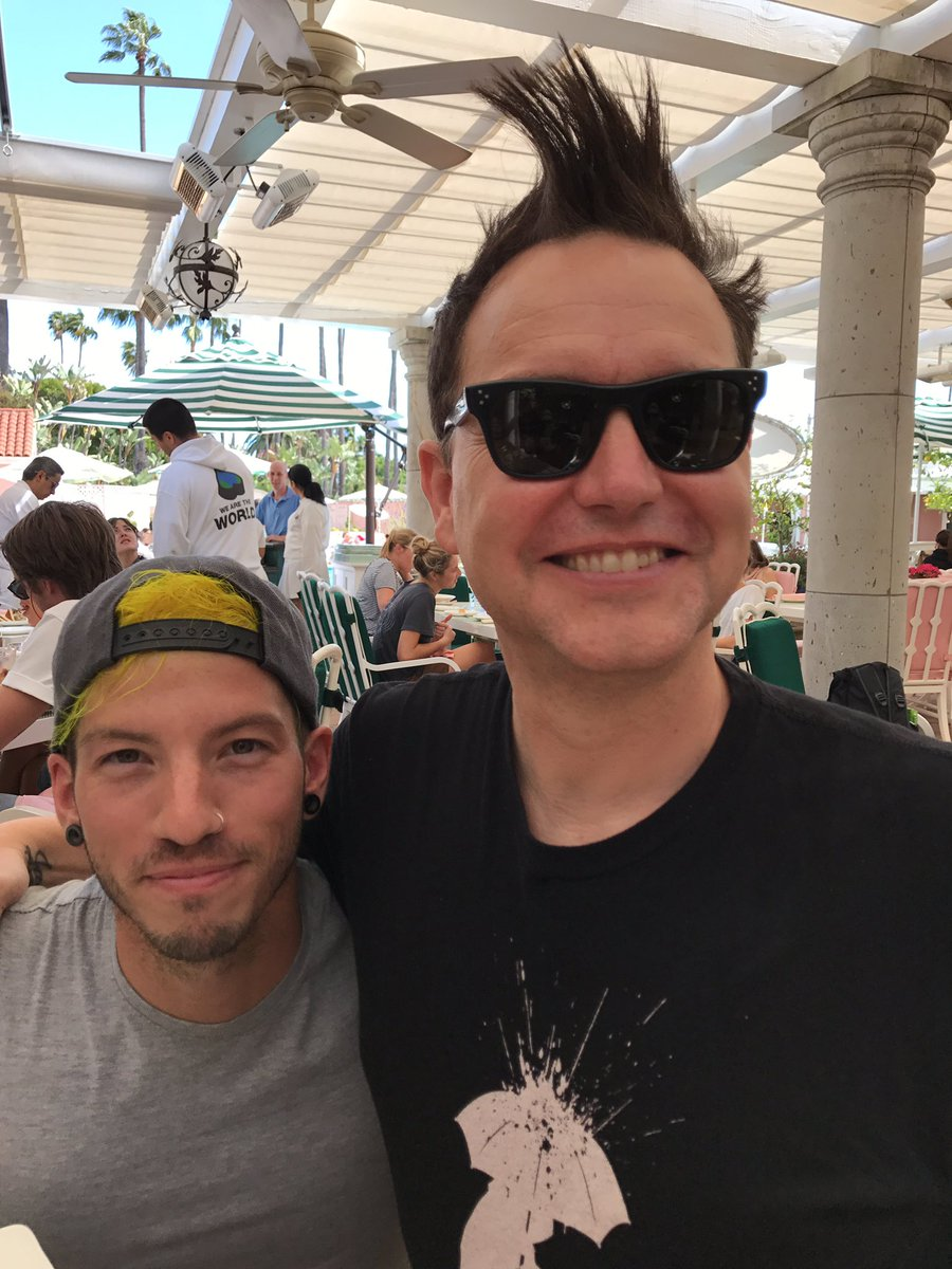 I'm gonna put this to rest. Josh Dun is a good friend of mine and he BARELY reaches 5' 5', if that. For reference, I'm 6' 2'.