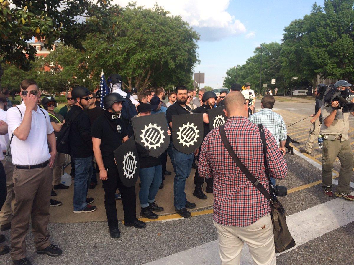 Alt-right activist at Auburn University.