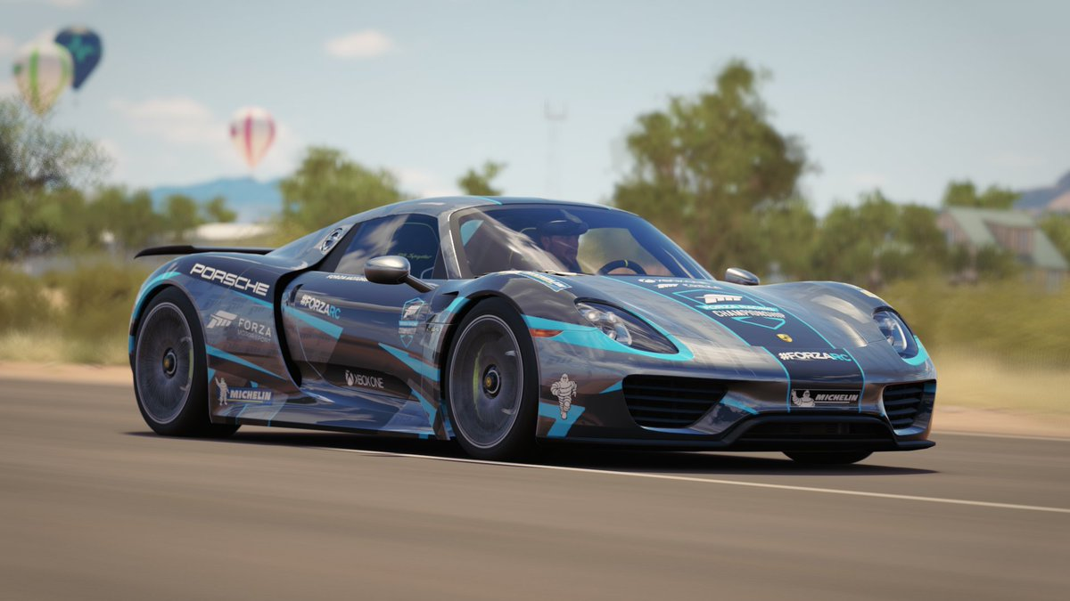 The FLG On Twitter ForzaRC MichelinTyres Porsche 918 Spyder Is Now Available In ForzaHorizon3 Xbox Windows XboxPlayAnywhere ForzaRCUGC