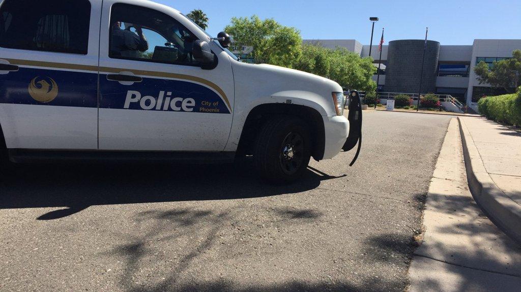 Man barricades himself inside room on DeVry University campus in Phoenix