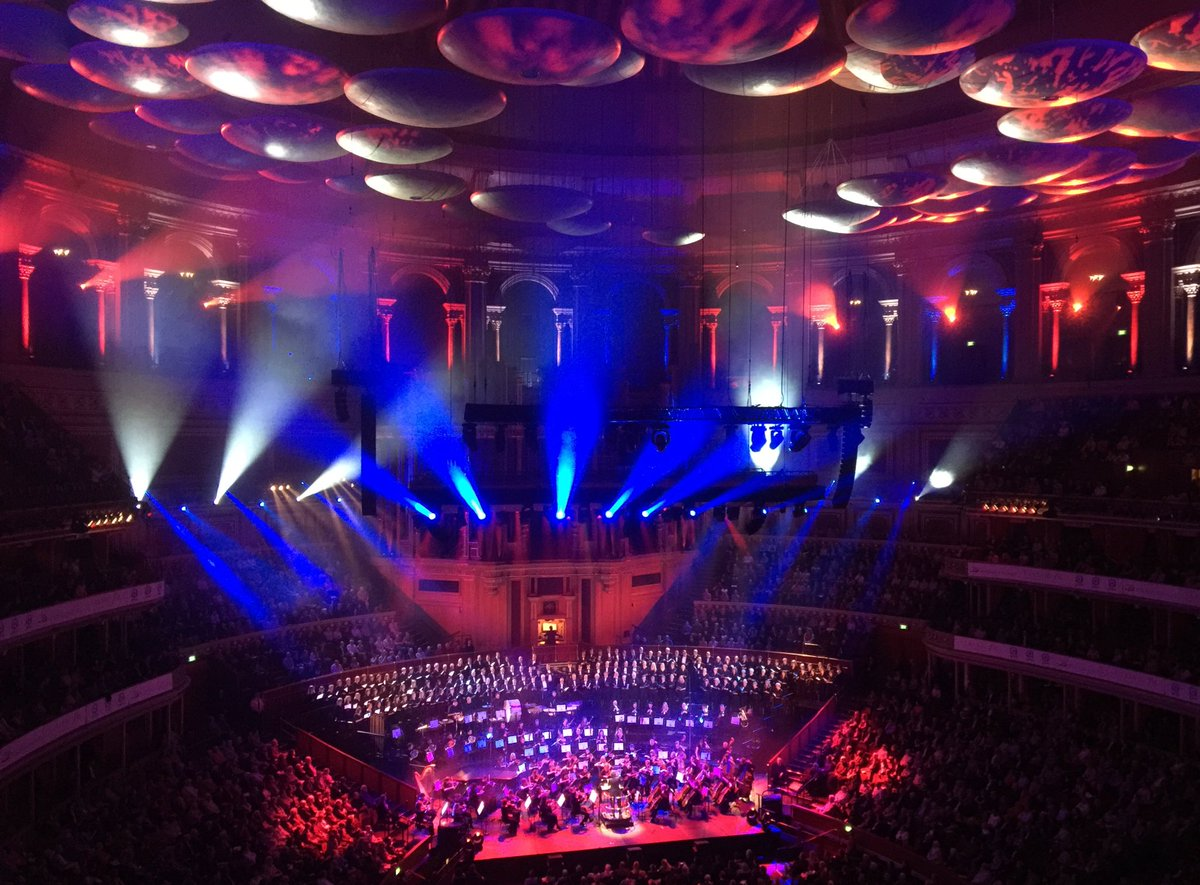 Fantastic evening of music  #classicfmlive #rah #CarminaBurana opener &amp; #1812 overture to end A.M.A.Z.I.N.G. @BSOrchestra #BSO @johnsuchet1<br>http://pic.twitter.com/aQxEpzrBMY