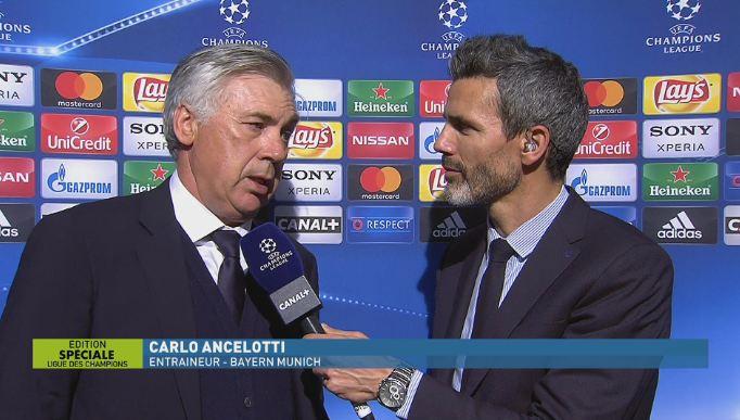 """""""L'arbitre a fait beaucoup d'erreurs...""""  La réaction de Carlo #Ancelotti...  http:// ln.is/k3iSd     by #infosportplus via @c0nveypic.twitter.com/eaWHhJpUzX"""
