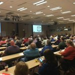 Great turnout at Upper Midwest RUG in Minneapolis. Love our JD Edwards ecosystem. #JDETraining