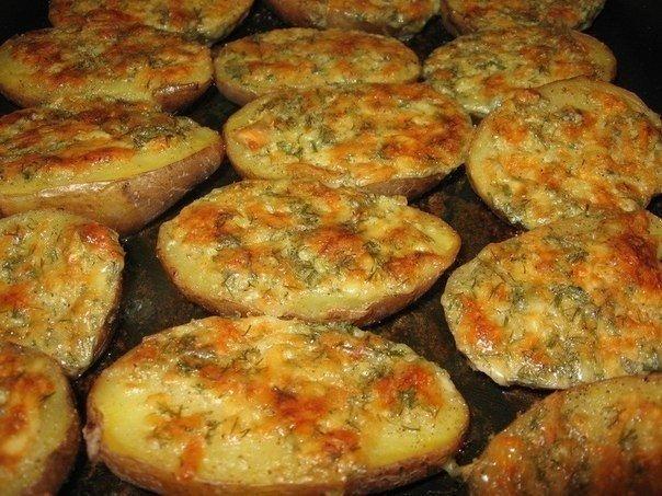 Чесночная картошка рецепт