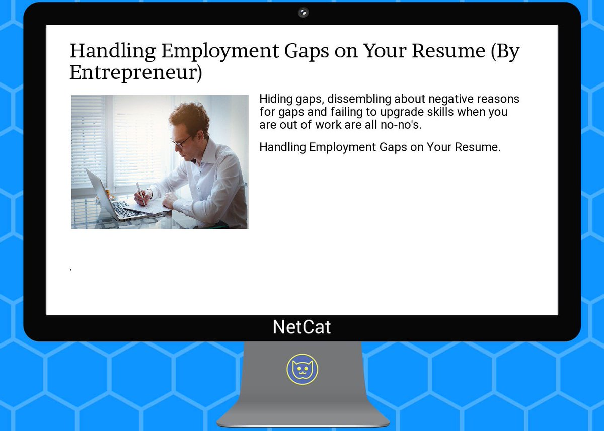 gaps on topsy one entrepreneur handling employment gaps on your resume<br>