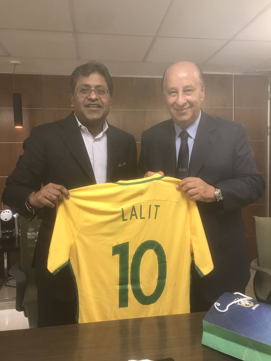 Extremely #honoured to be #hosted by @cbf_futebol #President @presidadelnero and his #Board &amp; #collegues to learn about @CBF_Futebol <br>http://pic.twitter.com/b3ImRkad4k