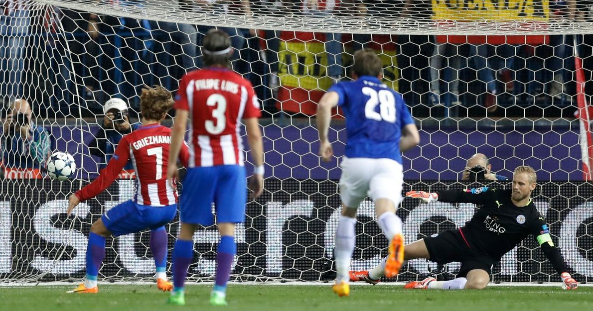 #LeicesterCity&#39;s Champions League adventure ended in disappointment  despite a spirited second-leg display against #AtleticoMadrid <br>http://pic.twitter.com/whyXXdNuFh