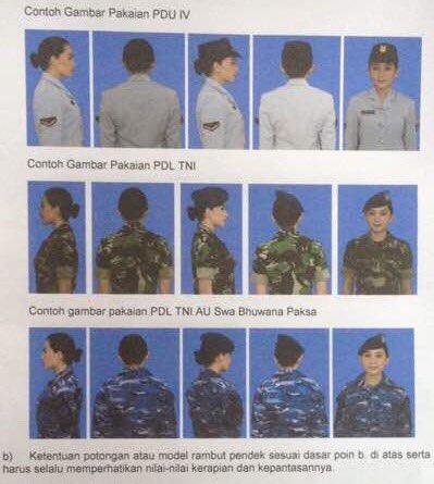 Tni Angkatan Udara On Twitter Prajurit Wanita Wara Boleh Memanjangkan Rambut Dengan Bbrp Ketentuan Saat Menggunakan Pakaian Dinas
