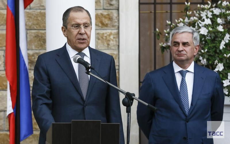 Lavrov: cooperation with Russia guarantees the security of Abkhazia