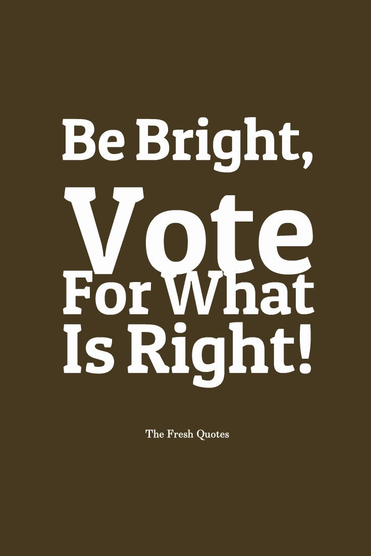 Vote Wisely Quotes 1