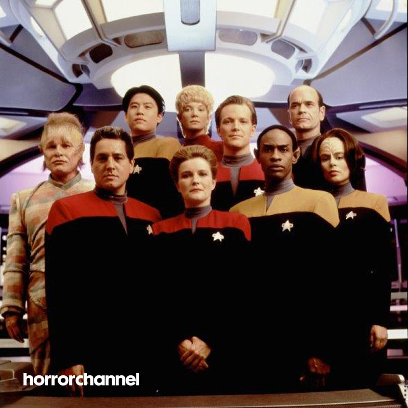 Meet the crew of Voyager at 7pm showing as part of Horror's #SciFiZone #StarTrekOnHorror https://t.co/ANGwCxvAHb