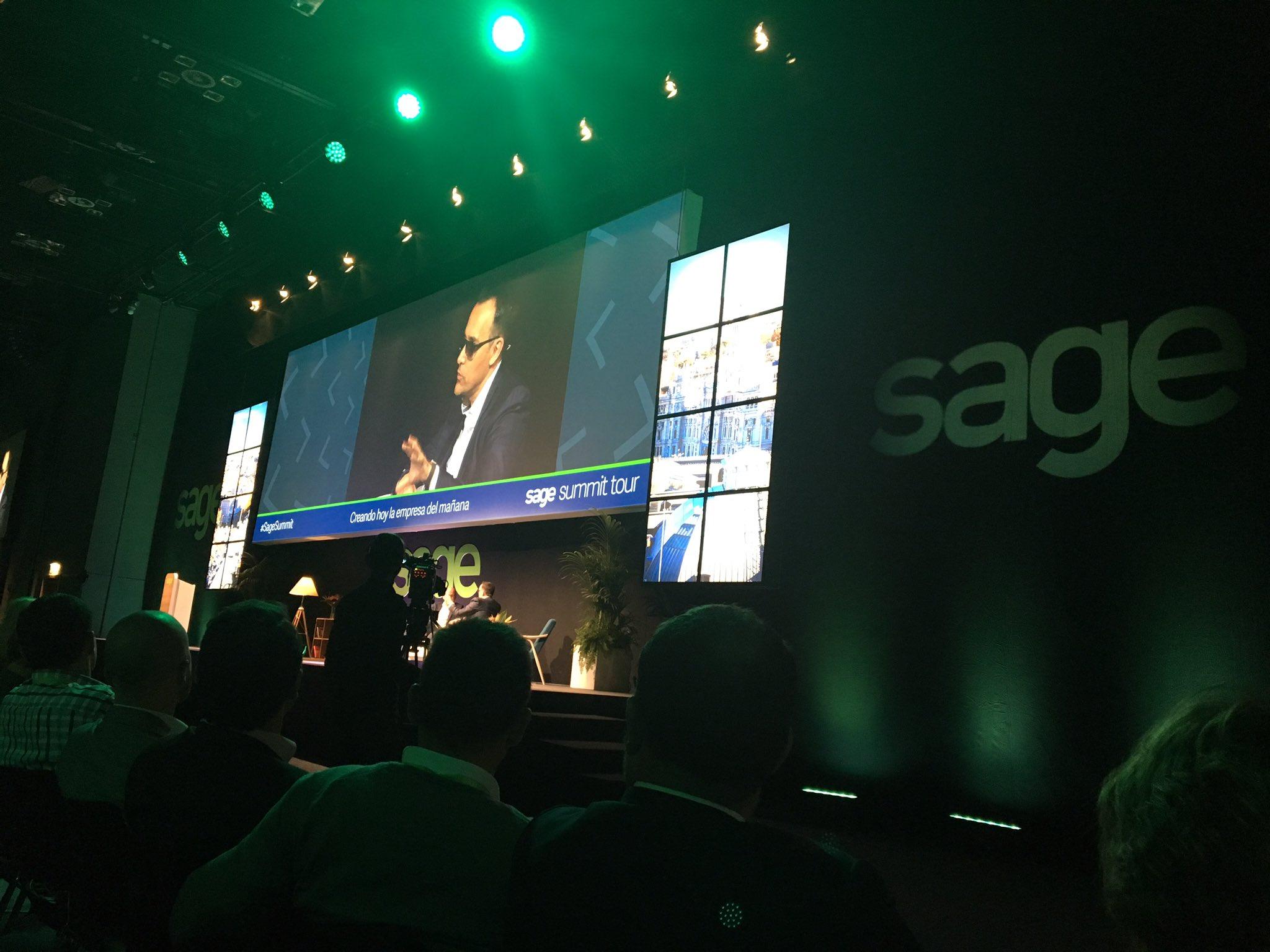 'Nada prepara mejor al fracaso que el éxito' @ristomejide #sagesummit #SageConecta @SageSpain @luispardo1 https://t.co/JISLeSldum
