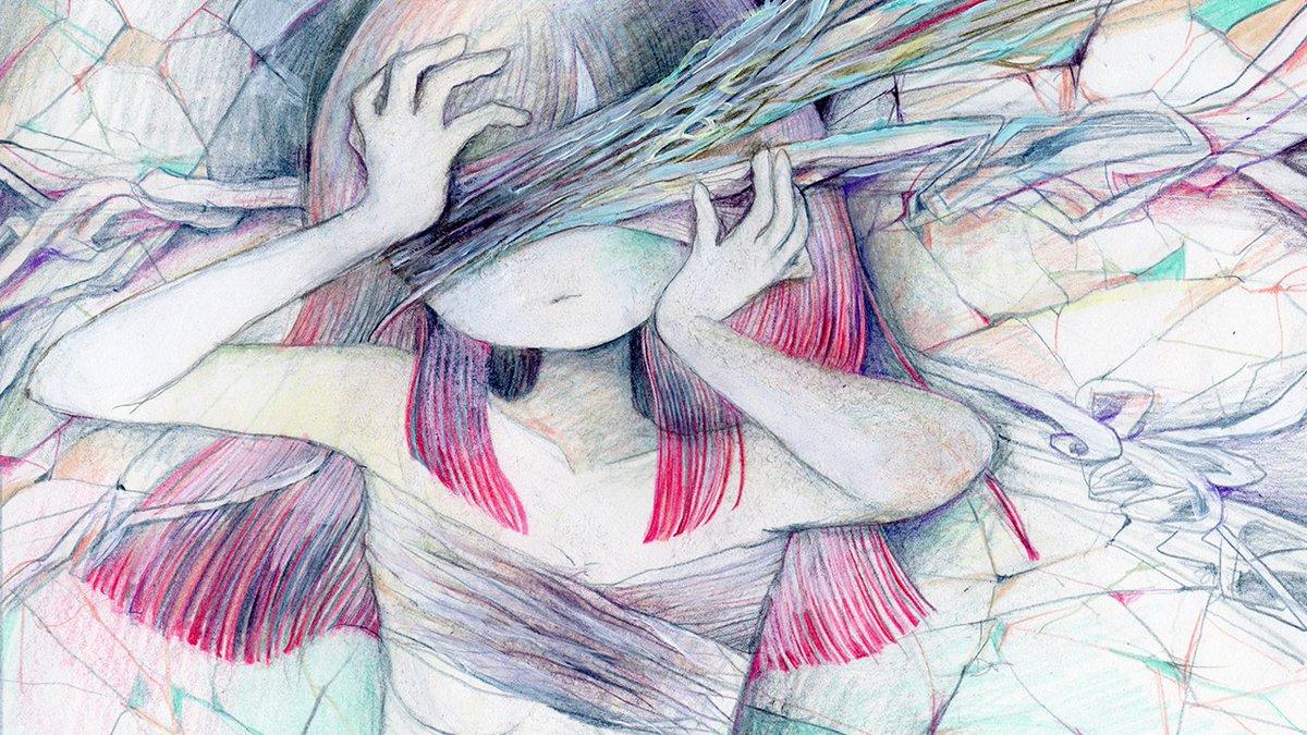 新曲です! ヒビダラケの眼(Vocaloid ver.) https://t.co/AHoTRvypKz https://t.co/IQsLlCRZih https://t.co/R1NTxyDMWY