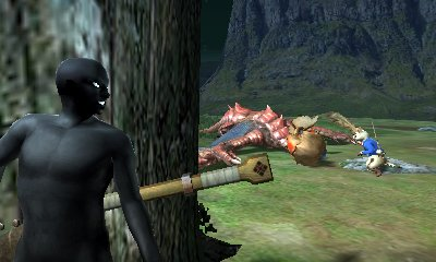 【MHXX】『モンハンダブルクロス』×『名探偵コナン』。本日19日配信のイベントクエスト「名探偵コナン・砂漠の逮捕劇!」をクリアして作れる「犯人シリーズ」のゲーム内での様子がコチラ! 『知られたからには、狩るしかねぇ!』capcom.co.jp/monsterhunter/… #MHXX