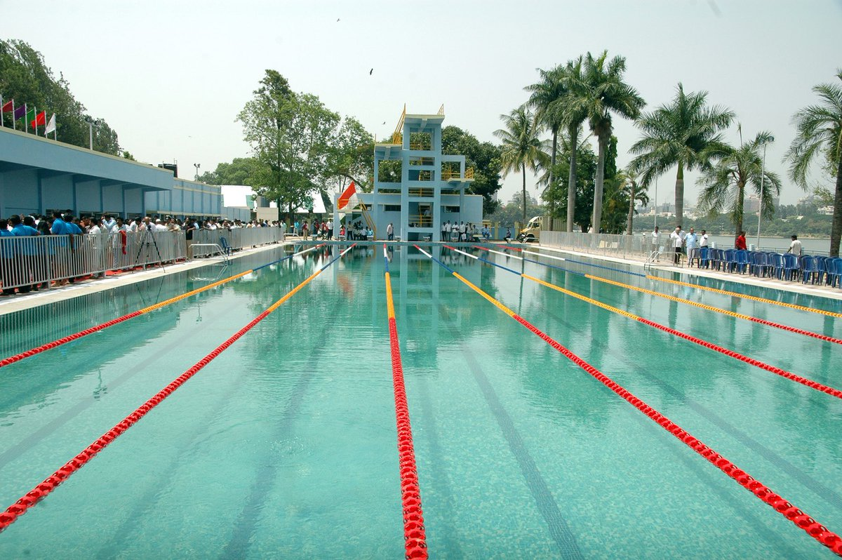 Kj George On Twitter Inauguration Of Ulsoor Kensington Public Swimming Pool At Shivaji Nagar