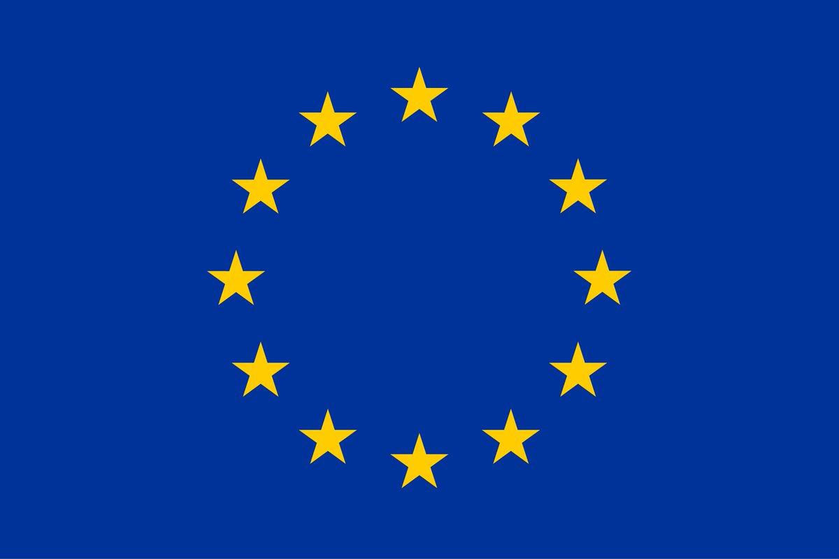 Fiers de notre #drapeau, symbole d'unité, de solidarité et d'harmonie entre les peuples d'Europe. Ne le cachons pas. https://t.co/2AUehmgm0W