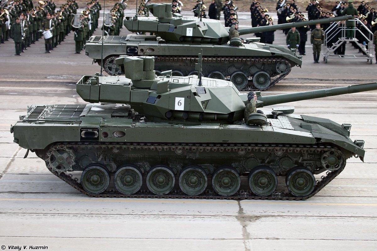 عودة التفوق الروسي البري من جديد , الحلم الروسي T-14 C9wti6LW0AEIO_E