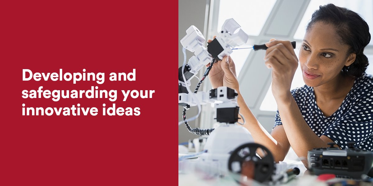 Discover how to add value, use prototypes and protect your intellectual property. ► https://t.co/k9NQWts2KG #IP