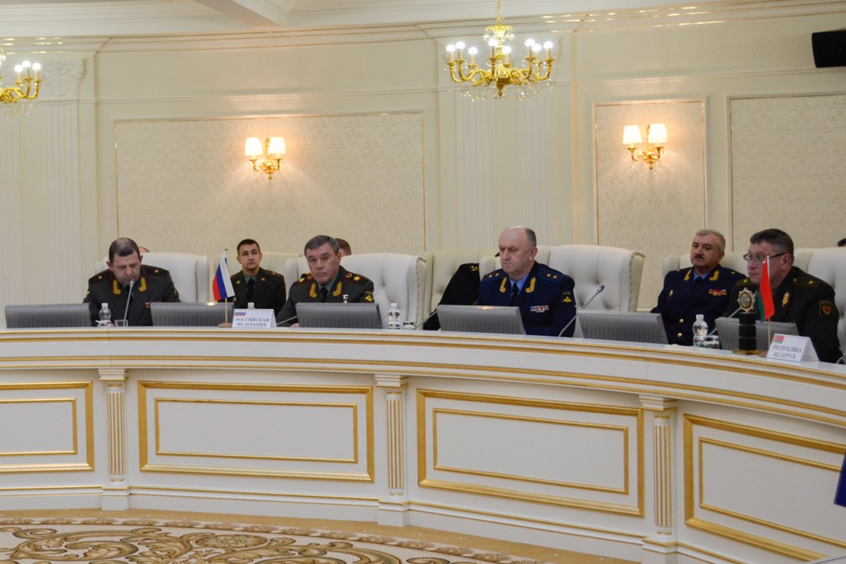 In Minsk, Chief of the General Staff of the RF Armed Forces Valery Gerasimov took part in the meeting of the CSTO Military Committee