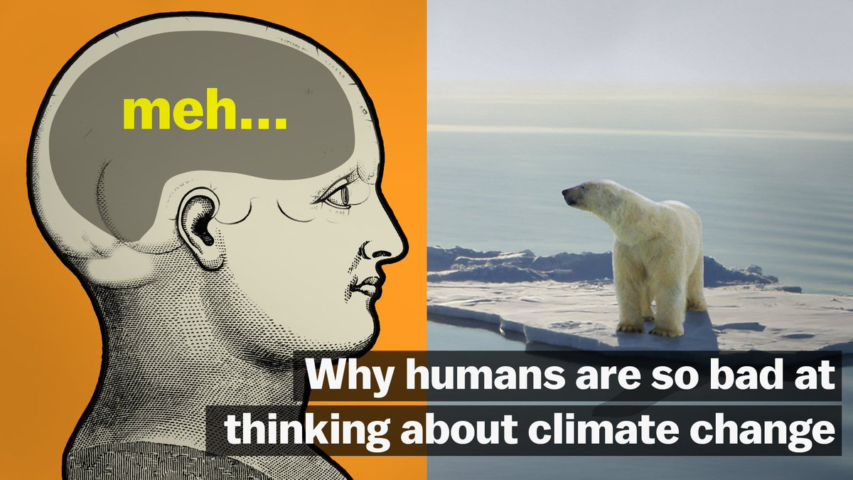 The biggest problem for the climate change fight isn't technology — it's human psychology.