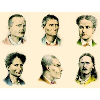 Maarcob On Twitter Cesare Lombroso 1835 1909 Criminal Faces