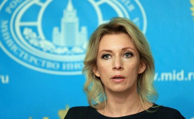 Zakharova doesn't rule out possibility of contacts between FMs of Armenia, Russia and Azerbaijan