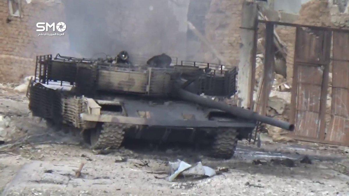 الوحش الفولاذي لدى قوات الجيش السوري .......الدبابه T-72  - صفحة 3 C9xC2poWAAAtSUX
