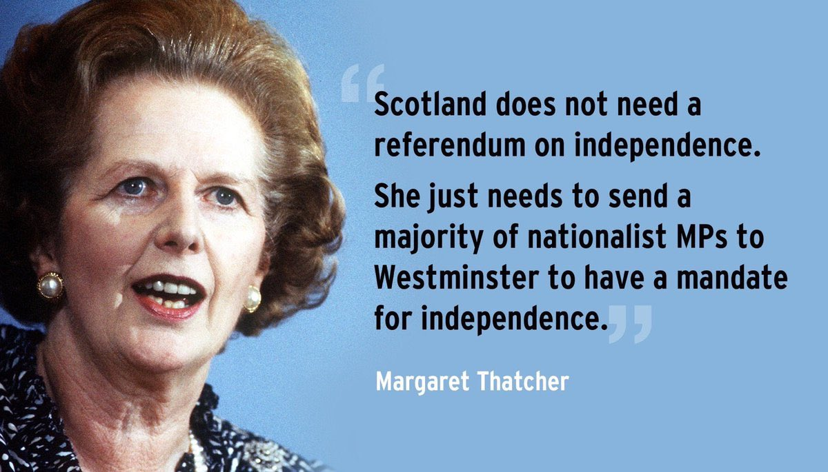 Image result for Mrs thatcher on scottish independence