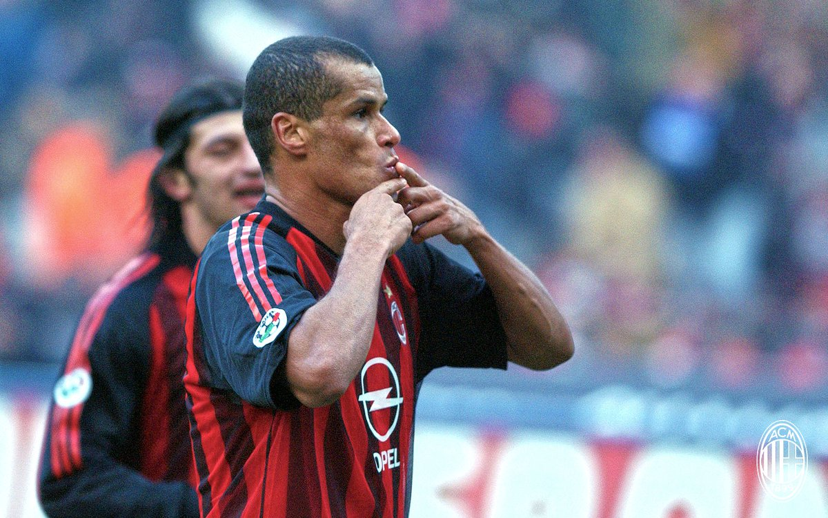 "AC Milan on Twitter: ""Rivaldo turns 45 today! ??⚫ Parabéns @RIVALDOOFICIAL! ??? #weareacmilan… """