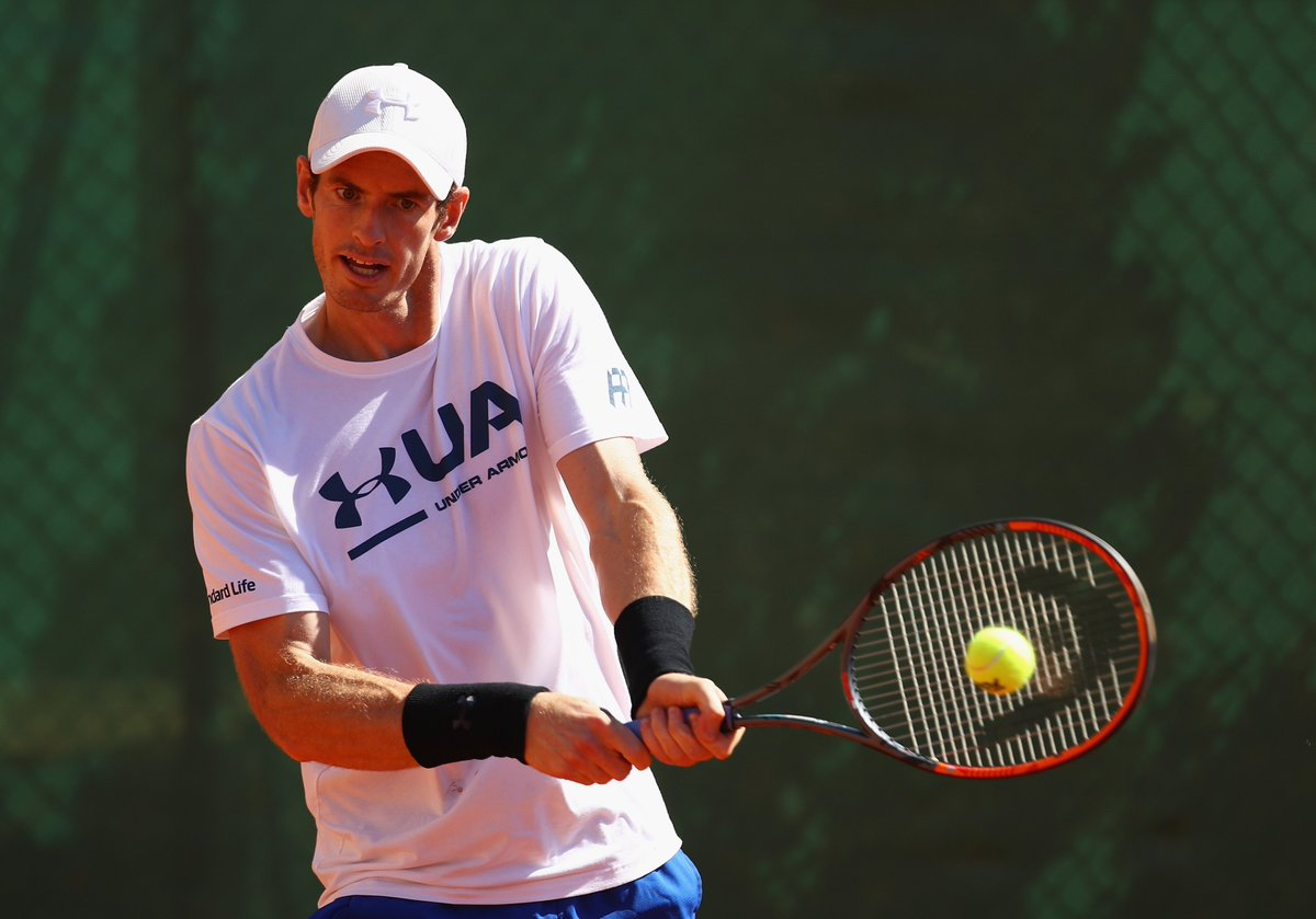 Andy murray twitter - Supersport On Twitter World Number One Andy Murray Has Recovered From An Elbow Injury And Makes His Return Today At The Monte Carlo Masters Now Live On