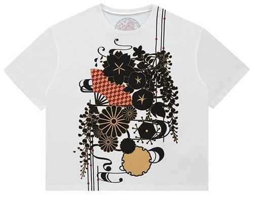 今回のTシャツなどに使われているこちらの柄はツアータイトルに合わせて「四季」を表現しております♪ 半袖ですが柄的には通年使えるものになっていると思いますので、普段着でも使って頂けたら嬉しいばかりです(*´︶`*) https://t.co/fugVIzcSsi