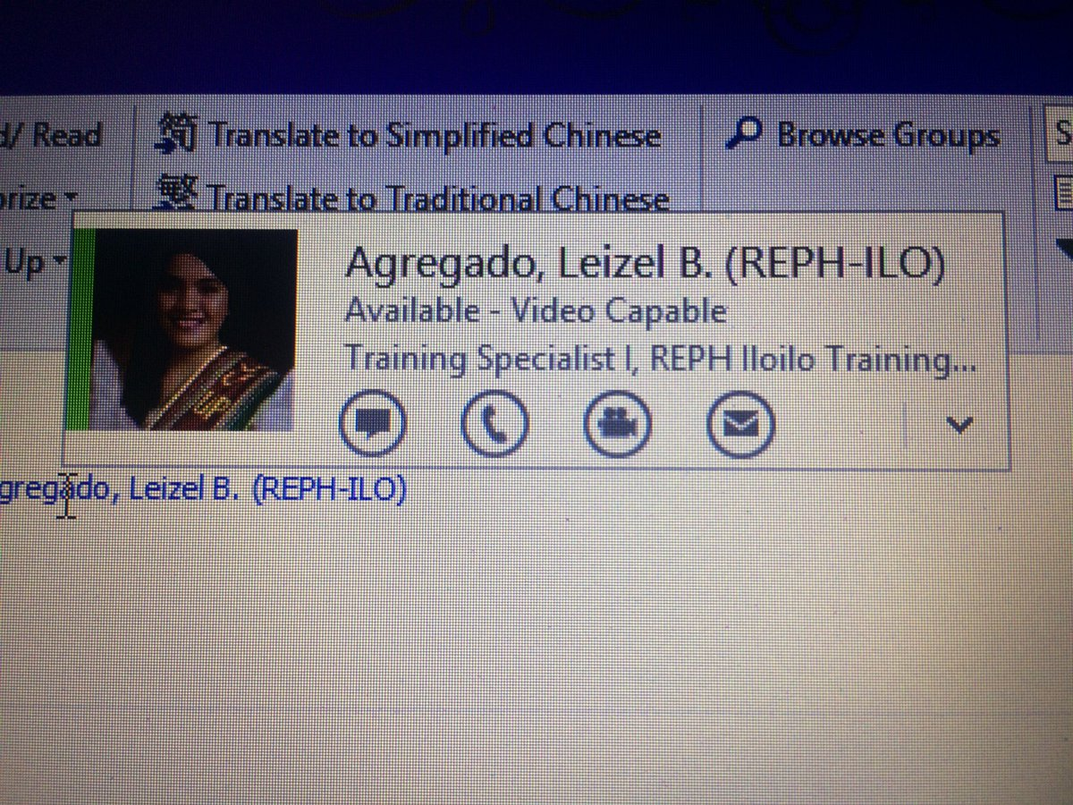 Updated na ang Org Chart.. pati sa Outlook.. It really is starting to sink in  #bso #surreal<br>http://pic.twitter.com/DsIS1GVnG8