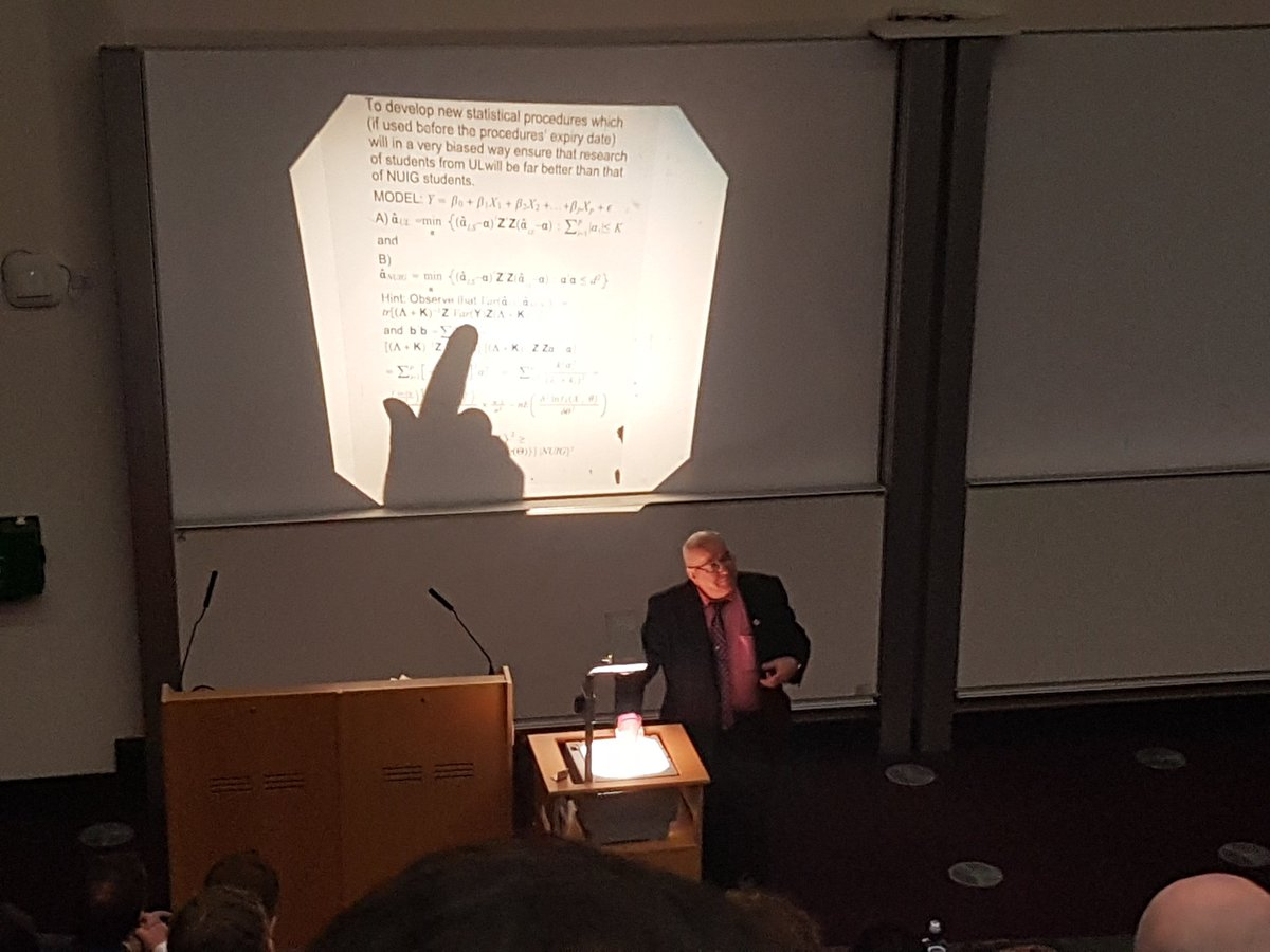 "Mary Loftus on Twitter: ""Jerome Sheahan going old-school with with the  OverHead Projector - and the lecture style - getting some laughs 🤣  @NUIG_UL_RDay… https://t.co/KMRNbDxWeC"""