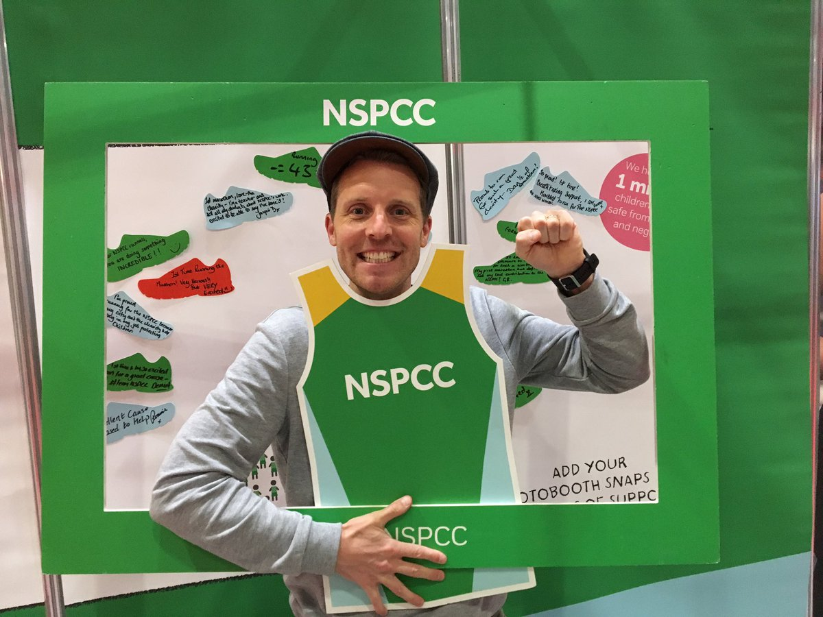 Go #TeamNSPCC!! I&#39;m @LondonMarathon #EXPO GETTING NERVOUS NOW!!!! @itvcorrie @voicing_csa @NSPCC  http://www. justgiving.com/ChrisHarperCor rieRun &nbsp; … <br>http://pic.twitter.com/HoWgu1Bpfb