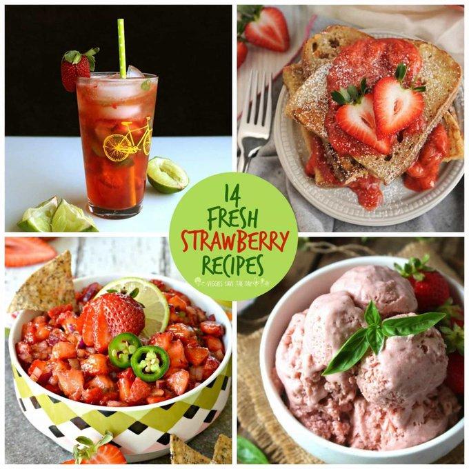 14 Fresh Strawberry Recipes (Vegan)
