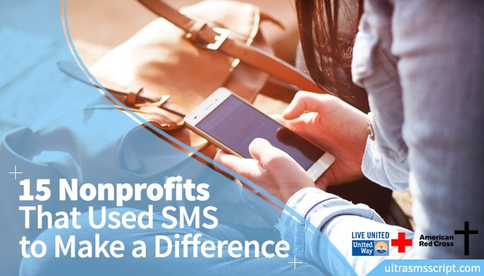 15 #Nonprofits That Used #SMS to Make a Difference | via @UltraSMSScript  http://www. ultrasmsscript.com/15-nonprofits- that-used-sms-to-make-a-difference/ &nbsp; … <br>http://pic.twitter.com/IwlvVhcVnI