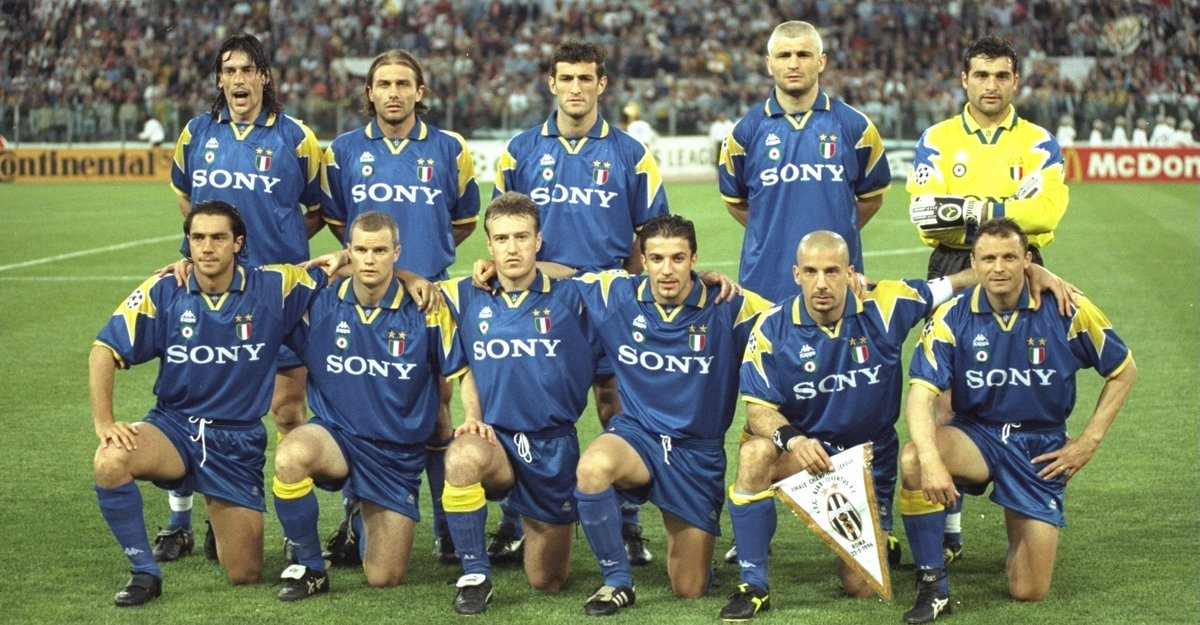 Juventus Champions League Winner 1996